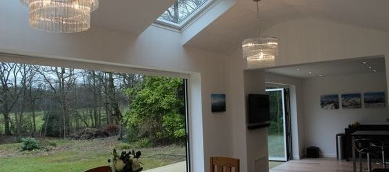 Velux rooflight kitchens
