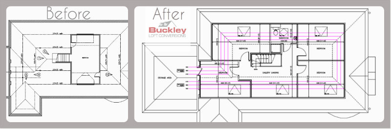 attic conversions plans ideas - Birmingham Bungalow Loft Conversion Transformed