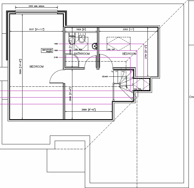 loft conversion layout ideas - Parkfields Stafford