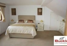 Bungalow Loft Conversion bedroom Cannock