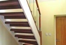 Glass Oak Fusion Stairwell Birmingham