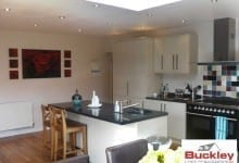 Kitchen extension Staffordshire