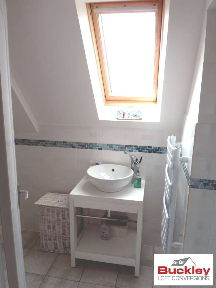 Loft Bathroom with Velux Roof light Sutton Coldfield