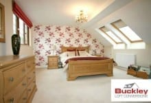 Loft Conversion Bedroom Cannock 1