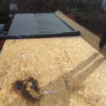 Loft Conversion Birmingham EPDM Flat Roofing before