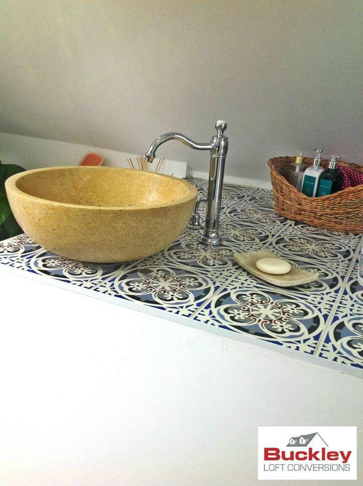 Loft En-suite Birmingham Feature Sink