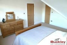 Loft conversion solihull bedroom