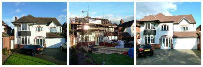 Re-Roof Loft Conversion Solihull