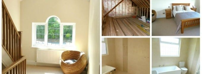 Solihull Loft Conversion Collage