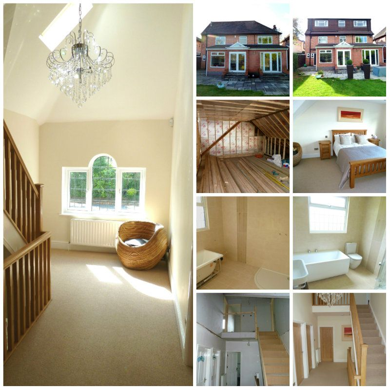 Sollihull Loft Conversion Collage
