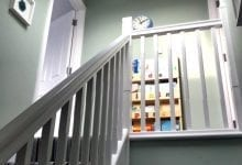Staircase with velux roof light Lichfield, Staffordshire
