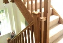 Sutton Coldfield Oak Stair case
