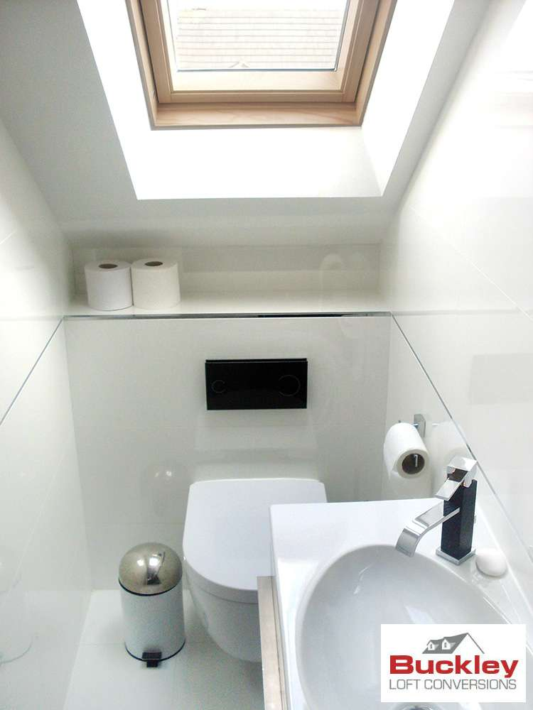 Garage bathroom