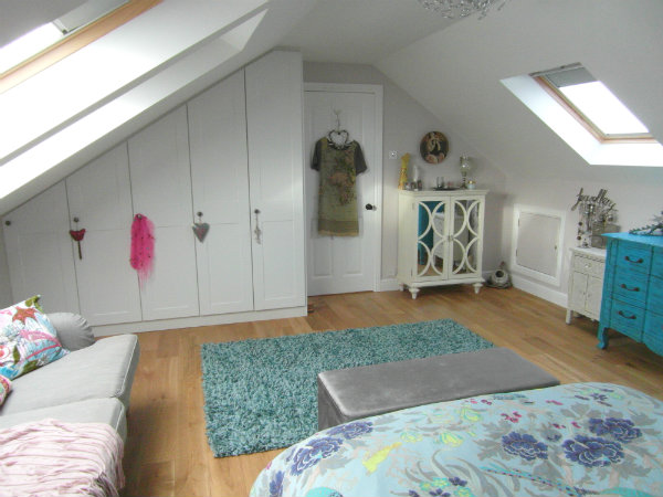 Hollies drive wednesbury velux loft conversion buckley for Master bedroom loft ideas