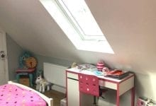 Velux Roof Light bedroom completed Lichfield, Staffordshire
