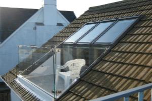 Dachfenster balkon velux