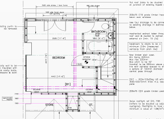 Design and Planning CAD Drawing