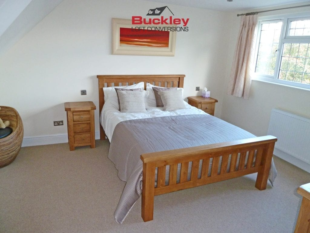 Loft Conversion Bedroom Solihull