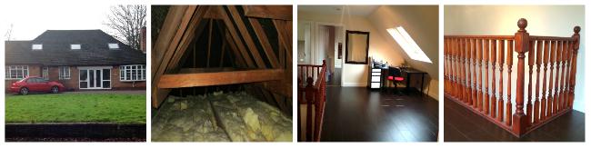 Bungalow loft conversion Brum