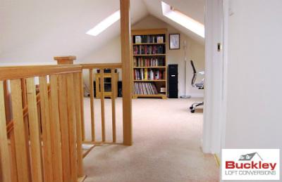 Study area loft Birmingham