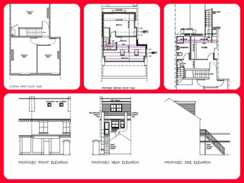 Dormer loft conversion Bridgtown