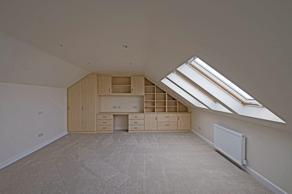 Master Bedroom Velux Loft Conversion