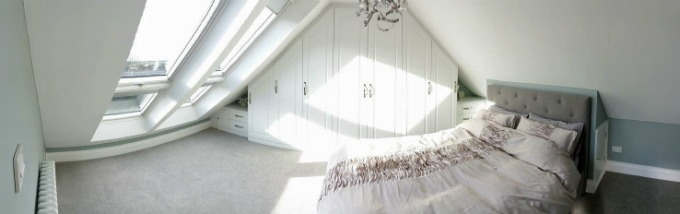 Bedroom Velux Loft Conversion Staffordshire