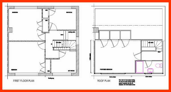 Lichfield loft conversion layout