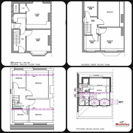 Loft Conversion Burntwood Loft Plan