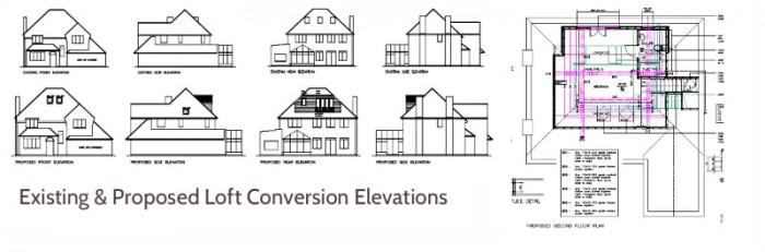 Loft Conversion Elevations