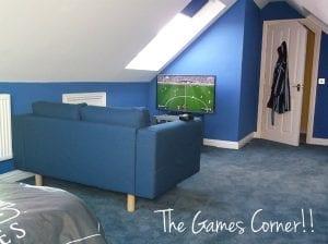 Loft Conversion Games Area