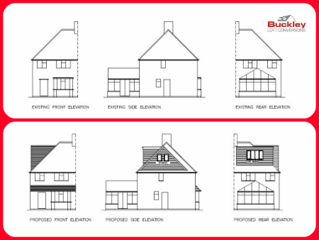 Loft Conversion Proposed Plan Burntwood