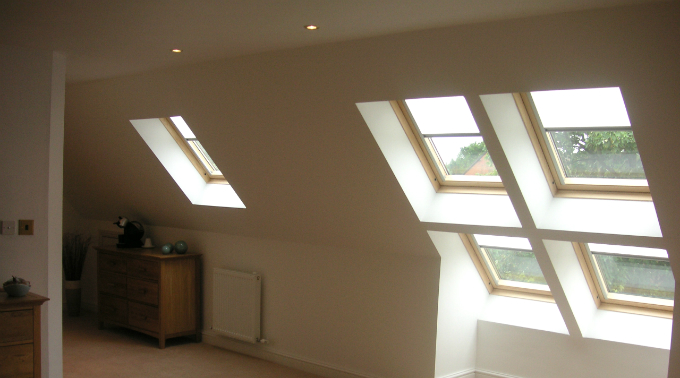 Loft Conversion West Midlands Blinds
