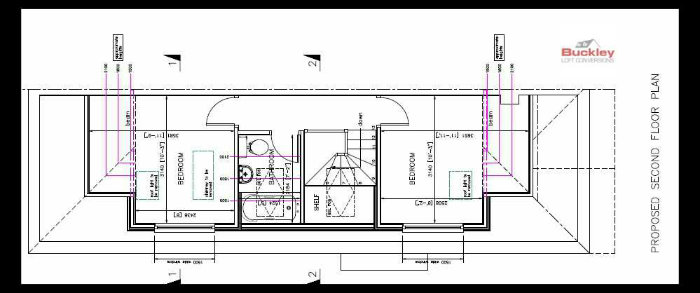 Loft Conversion Wolverhampton Layout