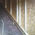 Loft Conversion internal studwork