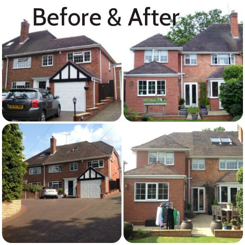 Loft conversion Solihull Before & After
