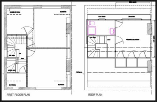 Loft Conversion Plan Streetly
