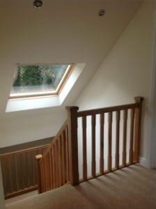 Oak Stairs Loft Conversion Sutton Coldifeld Buckley Loft