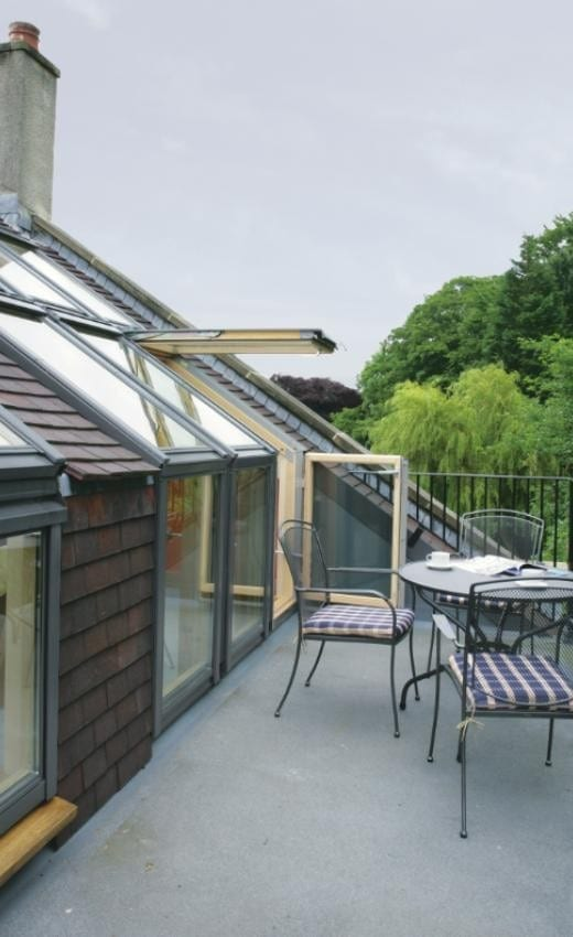 Velux Cabrio Balcony Roof Terrace Systems Guide Buckley Loft