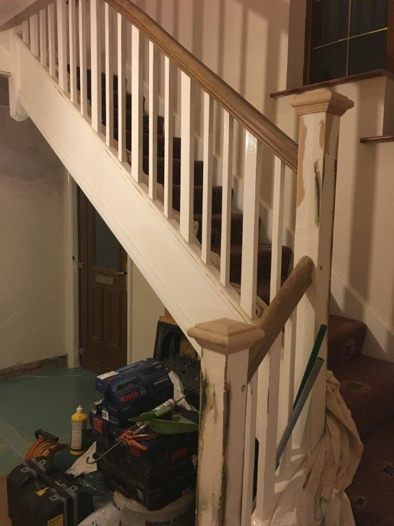 Stairs During Renovation