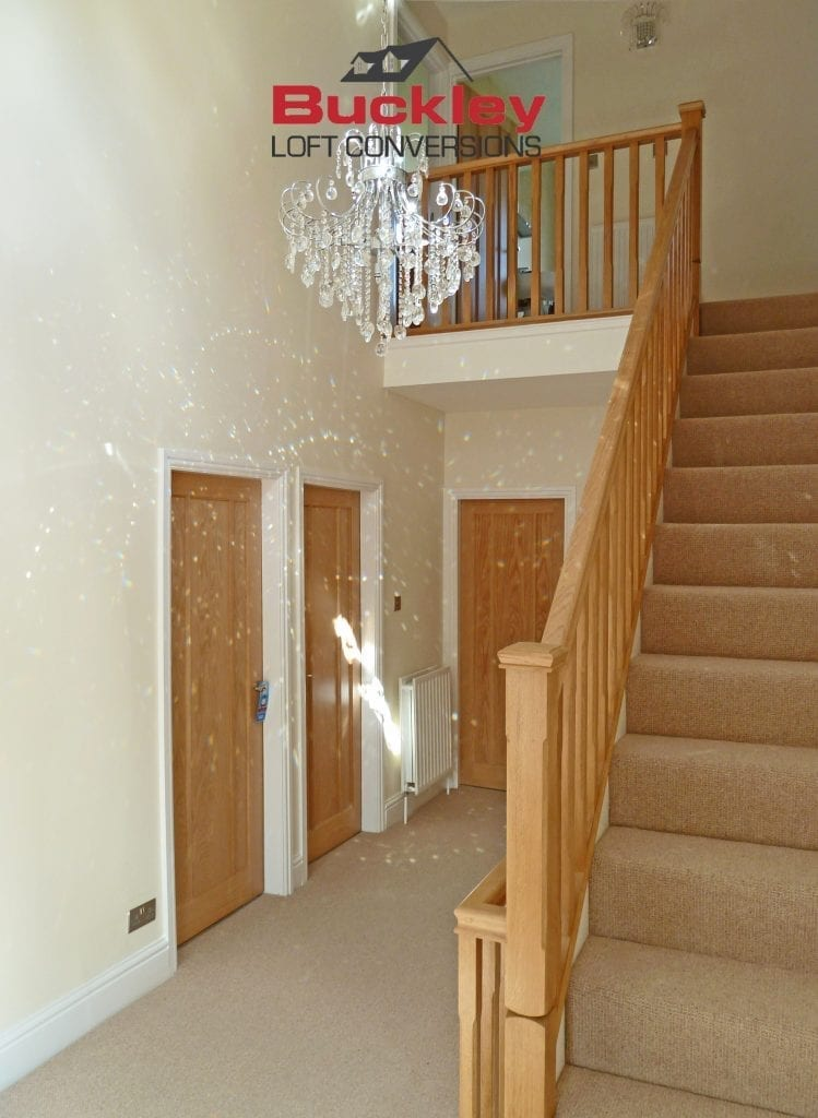 Loft Conversion Stairs Solihull