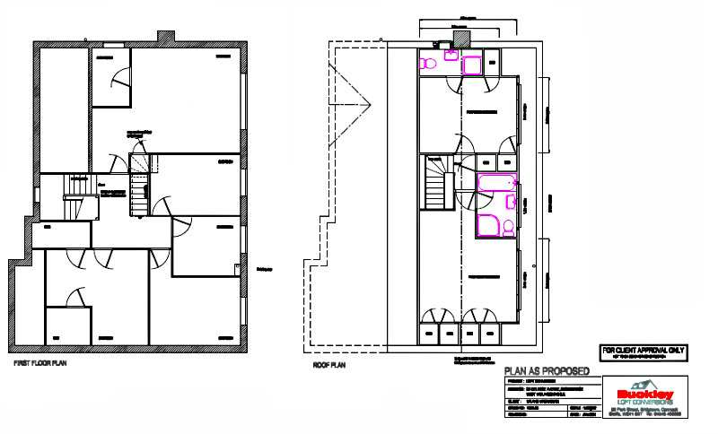 Stourbridge loft conversion plan