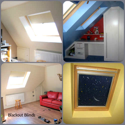 West Midlands Loft Conversion Blinds