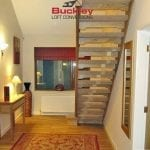 Staircase loft conversion Birmingham