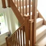 Pine staircase Lichfield Staffordshire