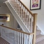 Wolverhampton West Midlands pine staircase